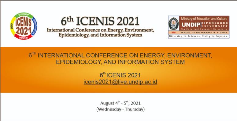 6th ICENIS 2021
