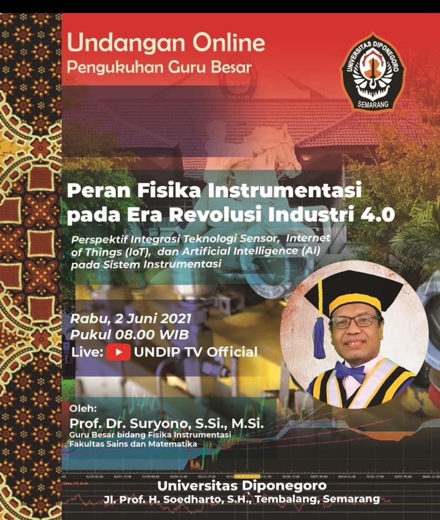 Undangan Online Pengukuhan Guru Besar