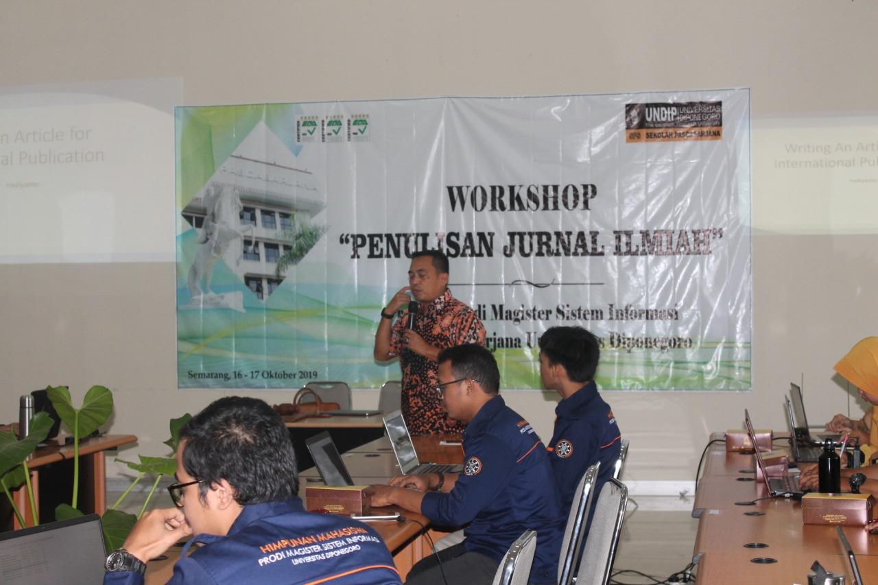 Workshop Penulisan Jurnal Ilmiah