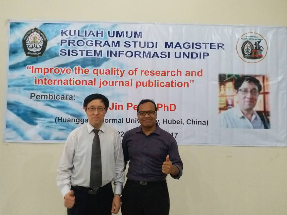 Kuliah Umum bersama Prof Jin Peng